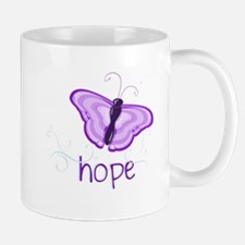 Hope Floats in Purple Mug