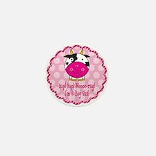 Cute Cow Big Sister Mini Button