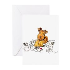 Welsh Terrier World Greeting Cards (Pk of 10)