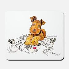 Welsh Terrier World Mousepad