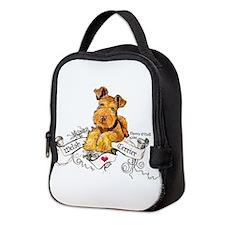 Welsh Terrier World Neoprene Lunch Bag
