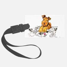 Welsh Terrier World Luggage Tag
