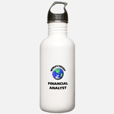 World's Coolest Financial Analyst Water Bottle