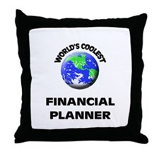 World's Coolest Financial Planner Throw Pillow
