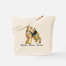 Make Mine Welsh.png Tote Bag