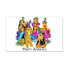 Welsh Terrier Party Wall Decal