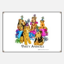 Welsh Terrier Party Banner
