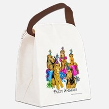 Welsh Terrier Party Canvas Lunch Bag
