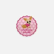 Chihuahua Middle Sister Mini Button (10 pack)