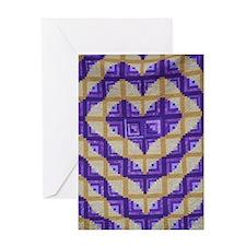 Radiating Love Greeting Card
