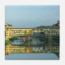 Ponte Vecchio Bridge Tile Coaster
