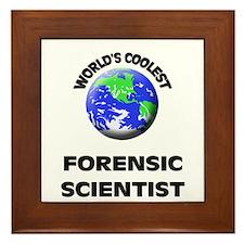 World's Coolest Forensic Scientist Framed Tile