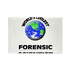 World's Coolest Forensic Scientist Rectangle Magne