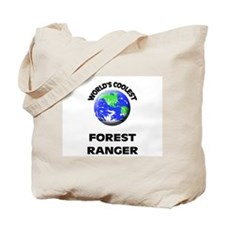 World's Coolest Forest Ranger Tote Bag