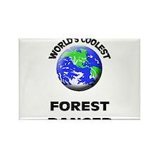 World's Coolest Forest Ranger Rectangle Magnet