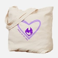 Embrace The Fire Within - Purple Tote Bag