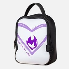 Embrace The Fire Within - Purple Neoprene Lunch Ba