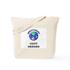 World's Coolest Goat Herder Tote Bag