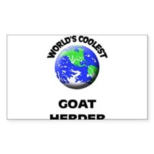 World's Coolest Goat Herder Decal