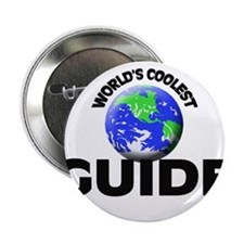 """World's Coolest Guide 2.25"""" Button"""