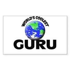 World's Coolest Guru Decal