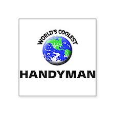 World's Coolest Handymen Sticker