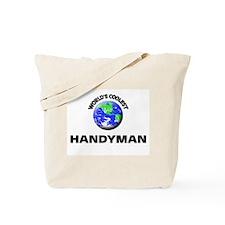 World's Coolest Handymen Tote Bag