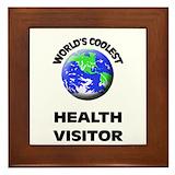 Health visitor Framed Tiles