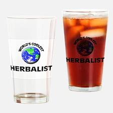 World's Coolest Herbalist Drinking Glass