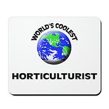 World's Coolest Horticulturist Mousepad