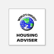 World's Coolest Housing Adviser Sticker