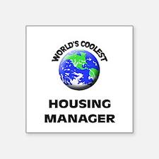 World's Coolest Housing Manager Sticker