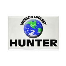 World's Coolest Hunter Rectangle Magnet