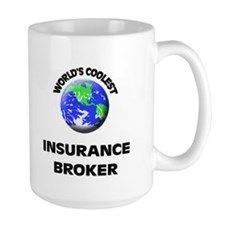 World's Coolest Insurance Broker Mug