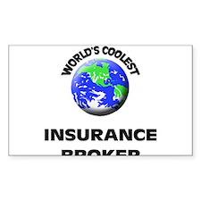 World's Coolest Insurance Broker Decal