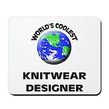 World's Coolest Knitwear Designer Mousepad
