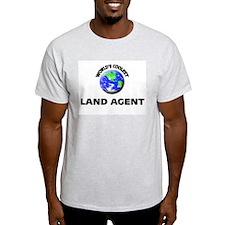 World's Coolest Land Agent T-Shirt