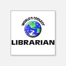 World's Coolest Librarian Sticker