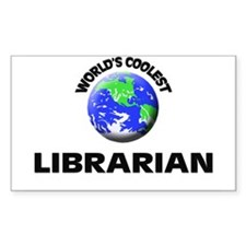 World's Coolest Librarian Decal