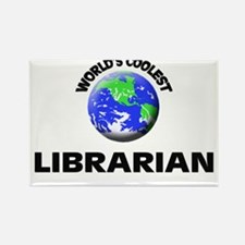 World's Coolest Librarian Rectangle Magnet