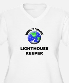 World's Coolest Lighthouse Keeper Plus Size T-Shir