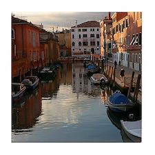 Venice Sunset Tile Coaster