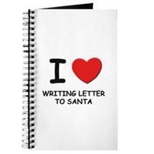I love writing letter to santa Journal