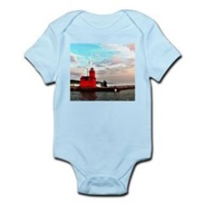 Holland Harbor Lighthouse II Onesie