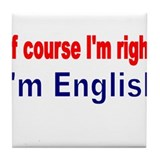 English Tile Coasters