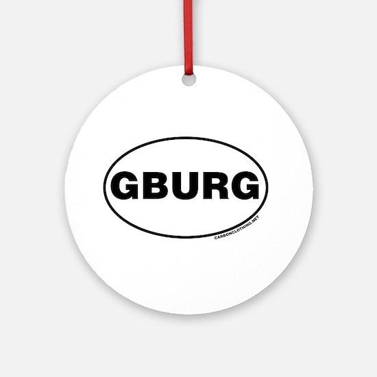 Gettysburg, GBURG Ornament (Round)