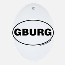 Gettysburg, GBURG Ornament (Oval)