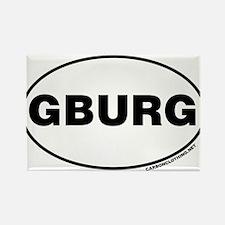 Gettysburg, GBURG Rectangle Magnet