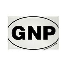 Glacier National Park, GNP Rectangle Magnet (10 pa