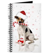 Jack Russell Dog Winter Holiday Journal